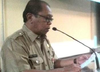 Plt Sekda Kota Padang, Vidal Triza. (baim)