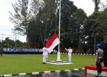 Upacara hari pahlawan di Mentawai. (ers)