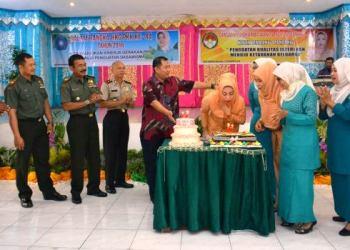 HUT Dharma Wanita Kota Padangpanjang. (HUMAS)