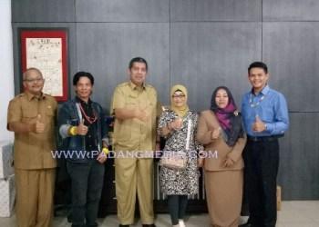 Rakor Dinas Pariwisata Sumbar dengan organisasi pariwisata di Kepulauan Mentawai. (ers)