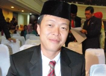 Ketua DPC PDIP Kota Padang Albert Hendra Lukman. (feb)