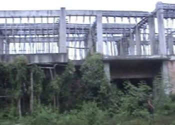 Kondisi bangunan lapas di Kab.Dharmasraya yang memprihatinkan. (ek)