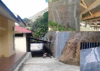 Kondisi bangunan Rumah Potong Hewan (RPH) baru di Kel.Air Dingin Kec.Lembah Segar Kota Sawahlunto. (tumpak)