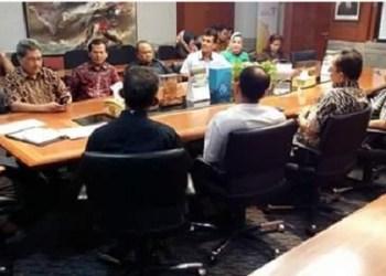Komisi IV DPRD Padang saat berkunjung ke Kemenpar RI. (ist)