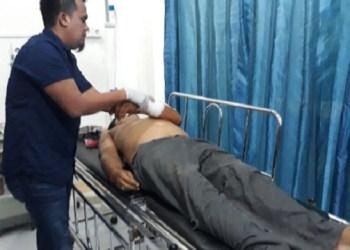 Korban tewas akibat acara orgen tunggal di Lubuk Basung. (fajar)