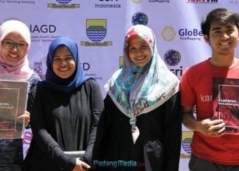 Empat Pemuda Perantau Minang yang memprakarsai Festival Kampoeng Minangkabau 2017 di Bandung. (dok.pribadi)
