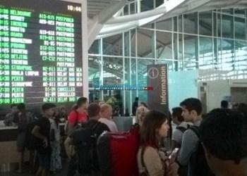 Kondisi di Bandara Ngurah Rai, Bali. (foto: Humas Ditjen Perhubungan Udara)