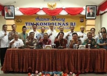 Tim dari Kompolnas RI saat berada di Mentawai. (ers)