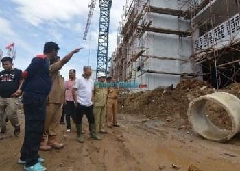 Proyek pemangunan Islamic Center di Padangpanjang. (foto: humas)