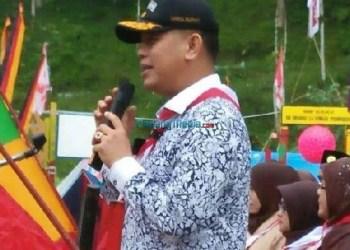 Wakil Bupati Pasaman, Atos Pratama saat memberikan arahan. (riki)