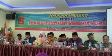 Anggota DPRD Agam hadiri Musrenbang.(fajar)