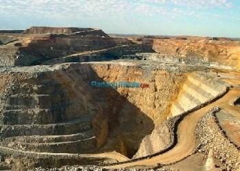 Ilustrasi tambang emas. (wikipedia)