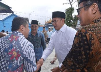 Menag RI, Lukman Hakim Saifuddin saat berada di Padangpanjang. (foto: humas)