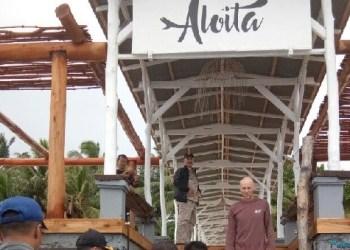Wagub kunjungi Aloyta Resort pasca berita penolakan pengelola terhadap rombongan Nasdem Sumbar. (foto:humas)