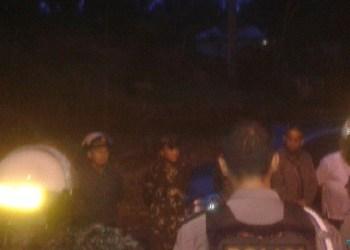 Kerusuhan akibat penolakan tambang emas di Simpang Tonang, Kec.Duo Koto, Pasaman, Rabu (23/5) malam. (ist)