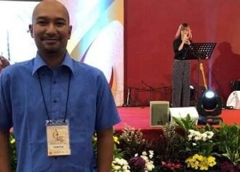 CongQ Perwira, Show as Director di Panggung Panti Perwira – Balai Sudirman Jakarta 'Gebyar Karya Pertiwi 2018'. (Dok. Perwira Management)