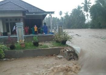 Banjir di wilayah Kab.Agam. (fajar)