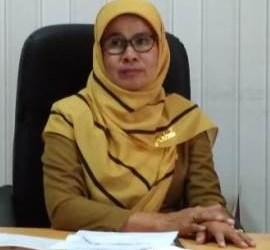 Kadis DKP Pesisir Selatan Arlindawati. (rio)