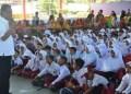 Bupati Agam Indra Catri Datuak Malako Nan Putiah membuka Lomba Bintang Sains yang diadakan Dinas Pendidikan dan Kebudayaan Kabupaten Agam, Selasa (25/2/2020). (Foto : AMC)