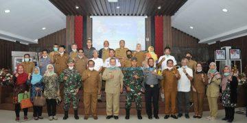 Wakil Gubernur Sumbar Nasrul Abit menghadiri Rakor di Mentawai, Senin (18/1/2021). (Zal)