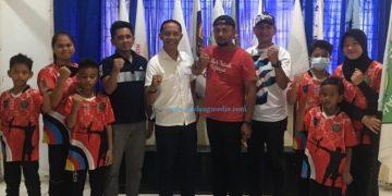 Atlet panahan Kota Sawahlunto. (Tumpak)