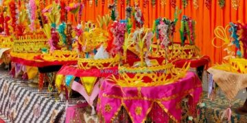 Tradisi Balimau Paga di Pessel menyambut bulan suci Ramadhan. (Zal)