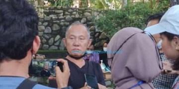Pimpinan Ladang Seni Nan Jombang Ery Mefri. (Febry)