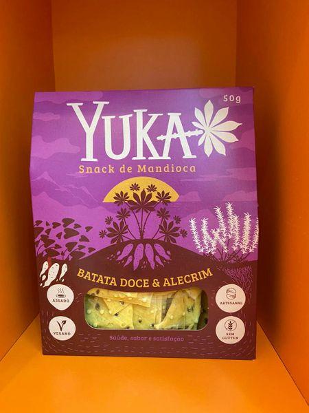 Snack Yuka - batata-doce com alecrim