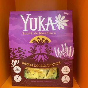 Snack Yuka – batata-doce com alecrim