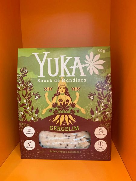 Snack Yuka - mandioca com gergelim