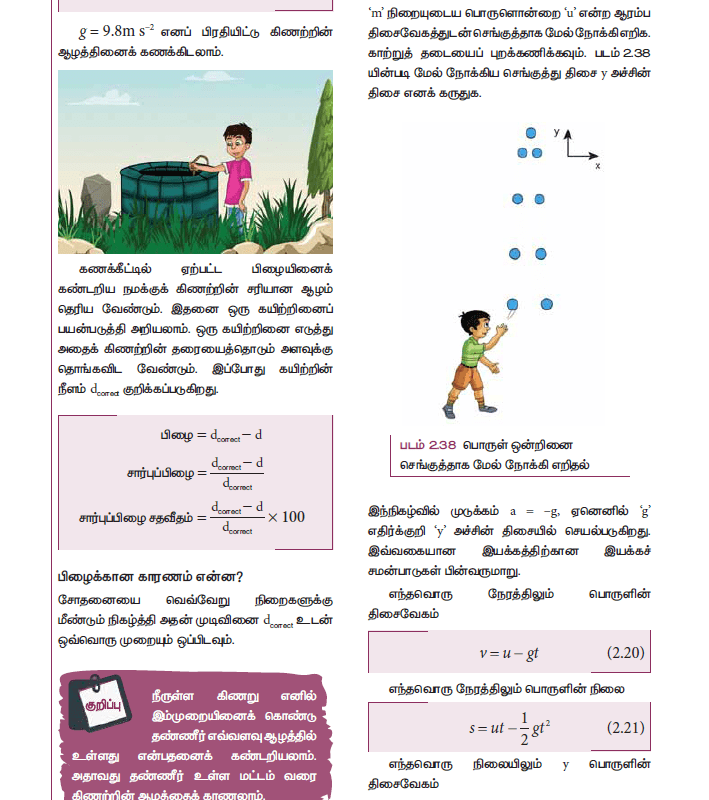 Tamil Medium 11th Standard Physics Volume 1 Online - tn11thcom 88