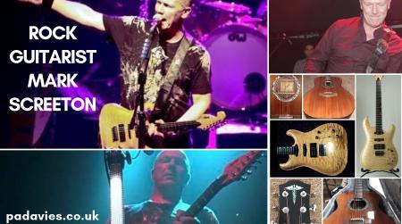 Rock Guitarist Mark Screeton - Blog Post Image