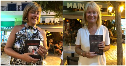 Two more book winners