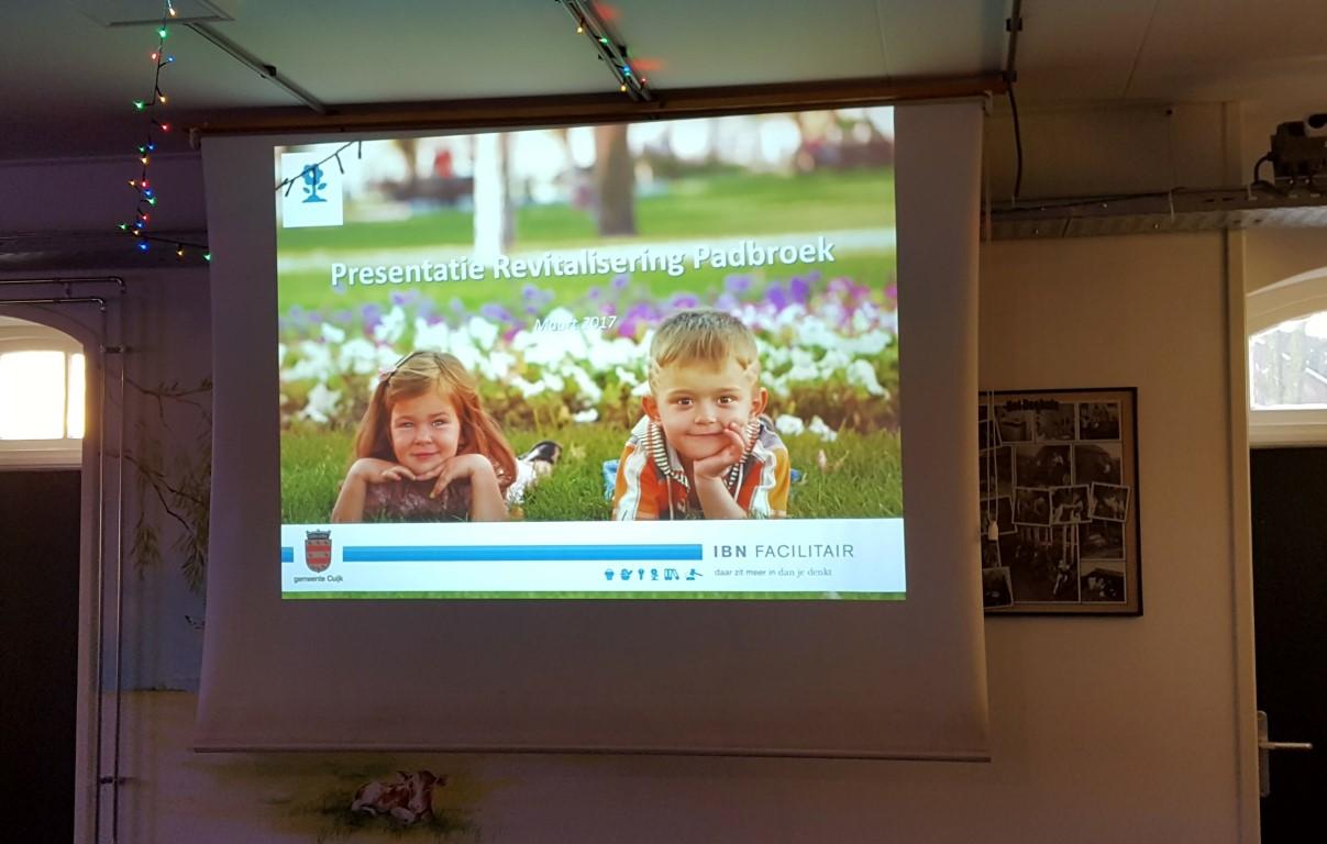 Presentatie Bewonersbijeenkomst