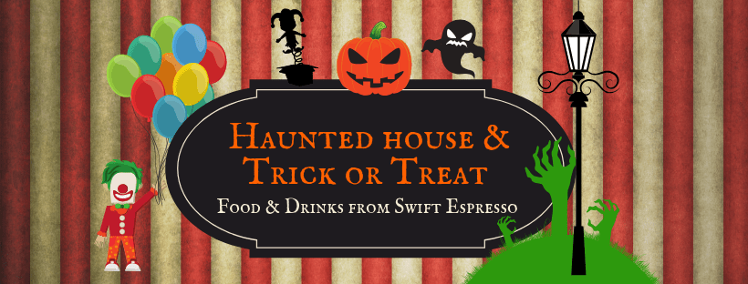 Paddington Halloween Haunted House and Trick or Treat