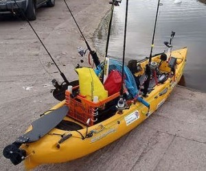 Overloaded Kayak