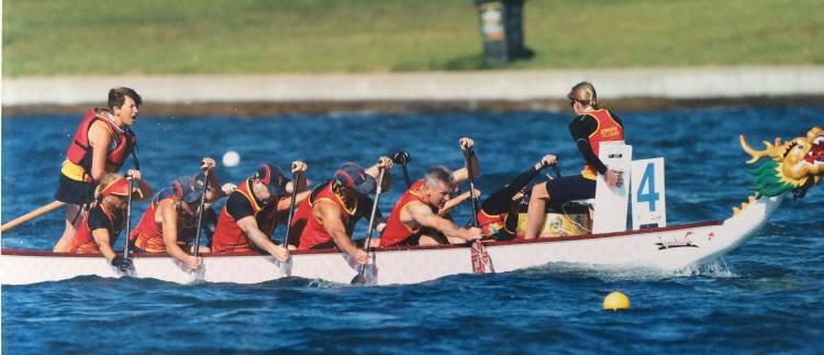 paddlechica Dragon Flyers Canberra Alan Clarke