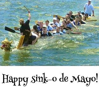 Happy Cinco de Mayo! paddlechica dragonboat cincodemayo