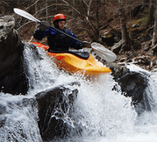 white-water-kayak