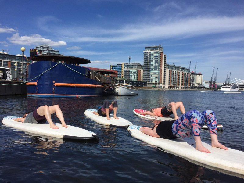 Paddleboarding SUP Pilates