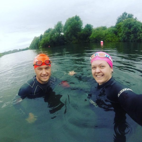 Triathlon Training with a partner