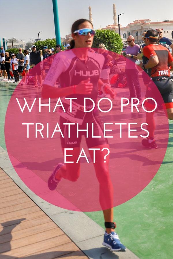 What do pro triathletes eat? Helen Jenkins