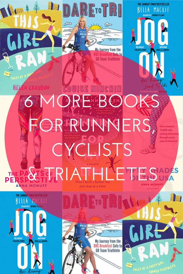 Books for runners, cyclists and triathletes