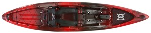 Perception Sport Pescador 12 Angler - Red - Fishing Kayak