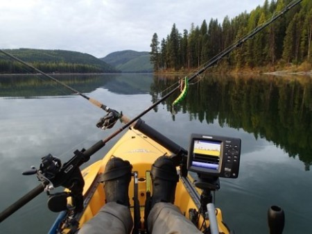 Kayak Fish Finder Set Up