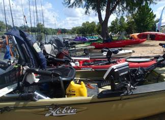 Fishing Kayaks Ready