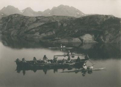 Inuit tribes kayaking