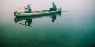 A canoe trip fuelled by baked beans