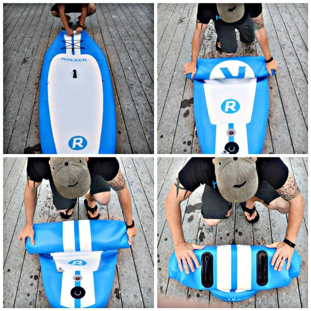 iRocker Paddle Boards Transports Easily