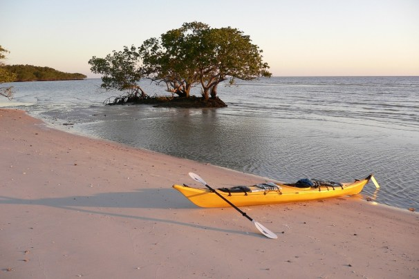 Sea kayaking can take you to exotic places